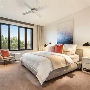 A, Lofty, Master, Bedroom, Contains, A, Neutral, Color, Palette, Of