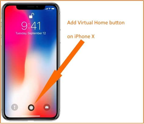 iphone custom gestures add home button on iphone x customize no gesture
