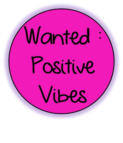 wanted positive vibes lessons from the middle