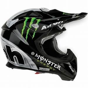 Casque Moto Airoh : casque moto cross airoh aviator monster noir ~ Medecine-chirurgie-esthetiques.com Avis de Voitures