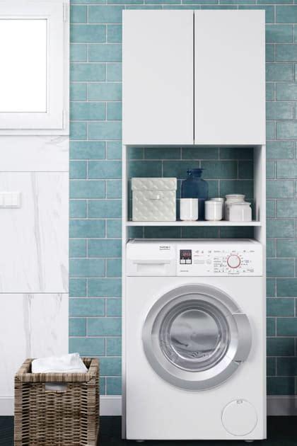 meuble au dessus de la machine  laver