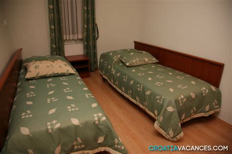location chambre hotel location hôtel croatie ref 064pr mz chb01 croatiavacances