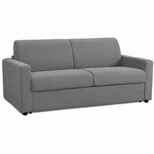 canape lit night convertible rapido 14019014cm gris With canape lit couchage 140