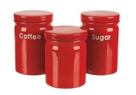 Antique primitive coffee tin can red coffee canister | etsy. Red ceramic Tea, coffee, sugar canister set, £6.50 individually or all 3 for £7.50 (save £12) at ...