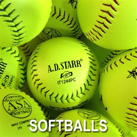 bulk baseballs softballs  sale ad starr