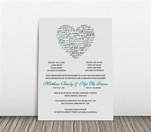 the clean wedding and wedding invitations on pinterest With vietnamese wedding invitation wording template