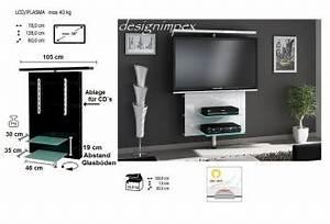 Tv Rack Drehbar : tv wand h 999 wei hochglanz drehbar tv rack lcd tv halterung led beleuchtungt ebay ~ Whattoseeinmadrid.com Haus und Dekorationen