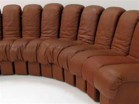 endless sofa ds 600 by de sede all in havane leather