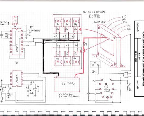 Apc Wiring Diagram by 500va Inverter Cct All Send104b