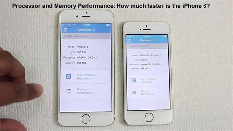 iphone 5s test iphone 6 vs iphone 5s speed test comparison