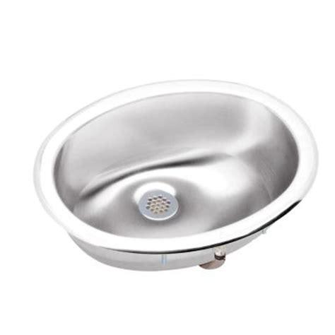 elkay lustertoneoval drop in bathroom sink in stainless