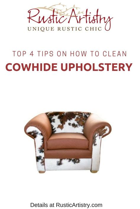 How To Clean Cowhide Leather by How To Clean Cowhide Furniture And Decor Step By Step