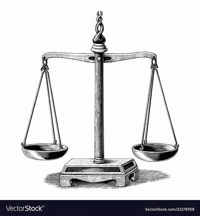 Drawing Scale Clip Balance Fashioned Weighing Clipart