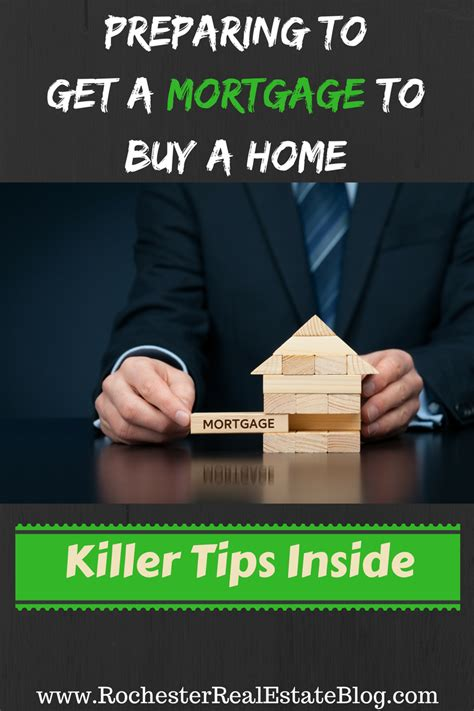 tips for preparing to get a mortgage when buying a home