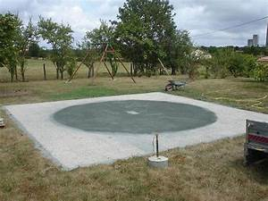 Enterrer Une Piscine Hors Sol : dallage piscine hors sol forum jardin assainissement vrd syst me d ~ Melissatoandfro.com Idées de Décoration