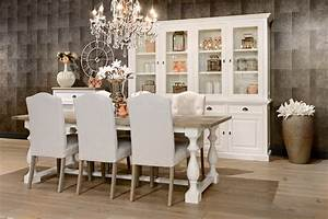 salle a manger table versaille bois deco With salle a manger cocooning