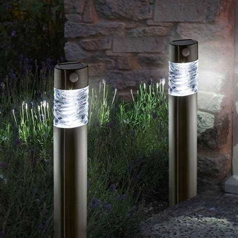 water features for the garden solar garden lights pharos pack of 2