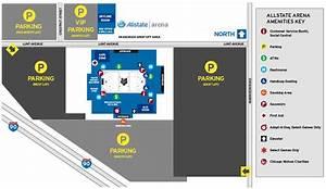 Allstate Seating Chart Allstate Arena Map Smeka