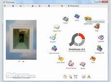 PhotoScape 37 Download for Windows FileHorsecom