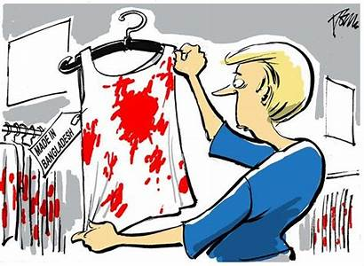 Cartoons Clothing Cheap Bangladesh Sweatshops American Cartoon