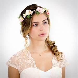 Couronne De Fleurs Cheveux Mariage : bandeau a fleur pour cheveux extension de cheveux ~ Farleysfitness.com Idées de Décoration