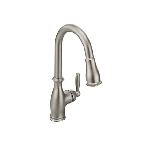 moen brantford kitchen faucet chrome faucet 7185c in chrome by moen