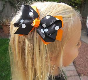 hair bow by bows notonthehighstreet