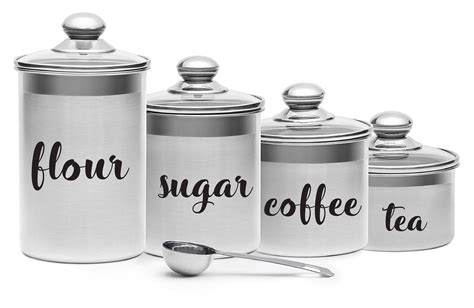 Canister Labels by Canister Label Decals Flour Sugar Coffee Tea Labels Vinyl