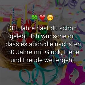 30 Dinge Zum 30 Geburtstag : gl ckw nsche zum 30 geburtstag spr che 30 geburtstag ~ Sanjose-hotels-ca.com Haus und Dekorationen