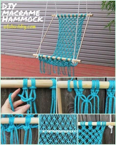 Fabric Hammock Pattern by Easy Diy Fabric Hammocks To Enjoy In Summer
