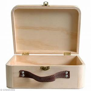 Valise En Bois : valise en bois d corer paulownia 23 cm objets divers d corer creavea ~ Teatrodelosmanantiales.com Idées de Décoration