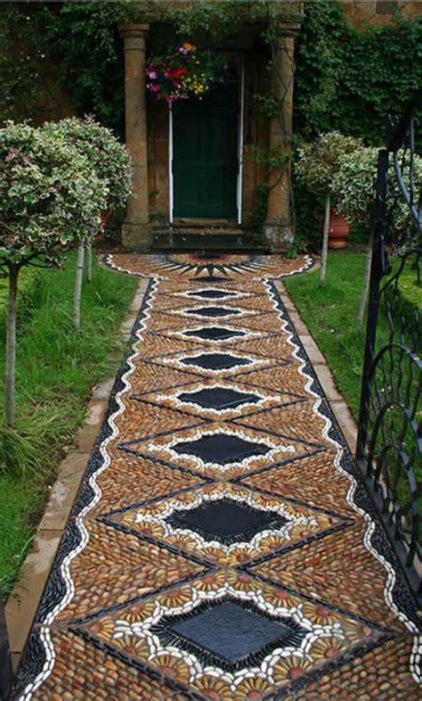 garden pathway designs garden mosaic on pinterest pebble mosaic mosaics and mosaic garden