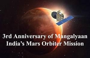 Third Anniversary Mangalyaan: India's Mars Orbiter Mission