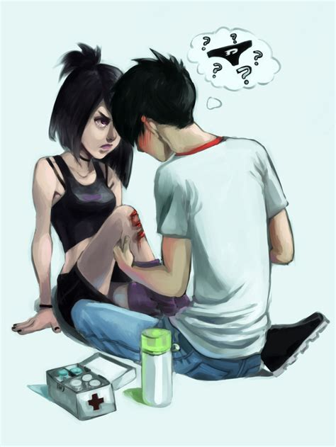 Danny and Sam. 3:) xD   Cartoons   Pinterest   Danny phantom and Crying