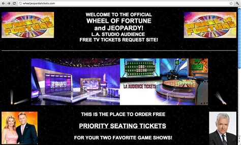 wheel jeopardy fortune johnny gilbert official ticket site eyesores because request