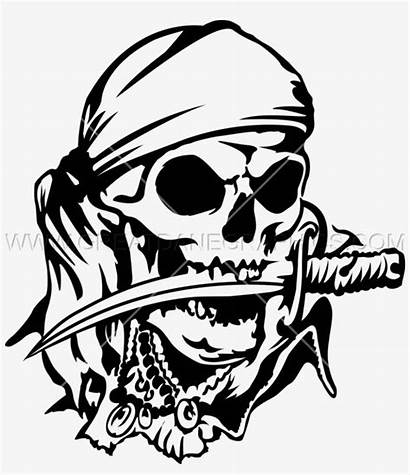 Skull Pirate Transparent Drawing Clip Pirates Clipart