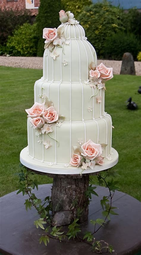 Life Is What You Bake It Vintage Birdcage Wedding Cakes