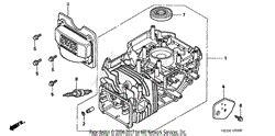 Honda Hrb Hxa Lawn Mower Usa Vin Maaa Parts