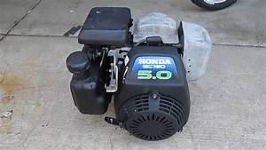 Honda Gc160 5 0 Hp 160cc Engine - Cold Start
