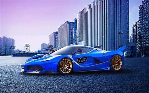 桌布 法拉利fxx K跑車,超級跑車藍 1920x1200 Hd 高清桌布, 圖片, 照片