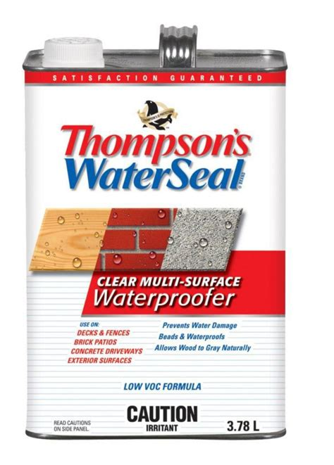 thompsons deck wash home depot thompson s waterseal deck wash thc052501 in canada