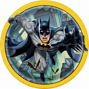 Batman Round Dinner Plates 8ct