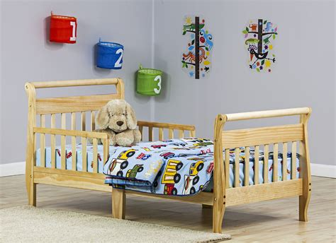 dream on me sleigh toddler bed natural baby toddler