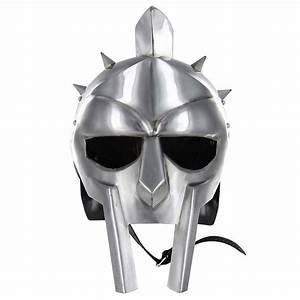 Medieval Helmet of the Spaniard Maximus Roman Gladiator 18 ...