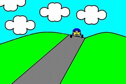 Animated Cliparts Clip Animation Clipart Moving Driving