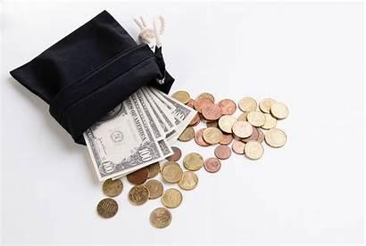 Money Bag Wallpapers Wallet Dollar Symbol Coins
