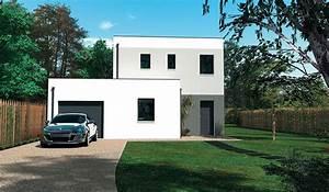 Maison A Part : maison design tage 98 m 3 chambres ~ Voncanada.com Idées de Décoration