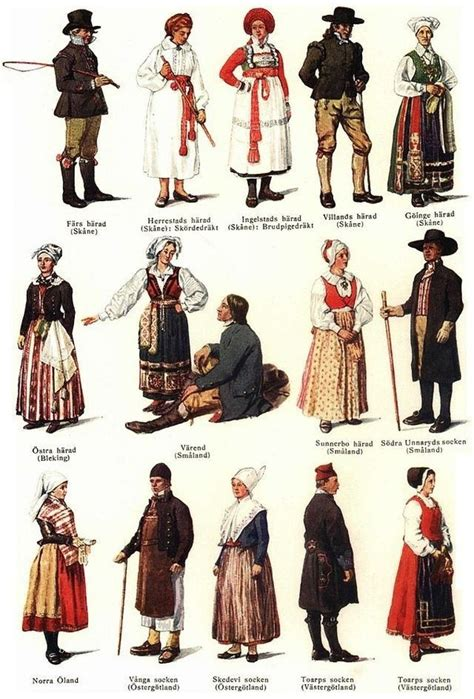 swedish traditional costume