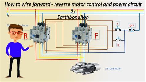 How Wire Forward Reverse Motor Control Phase