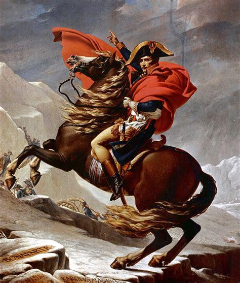 File:Jacques-Louis David - Napoleon Crossing the Alps ...